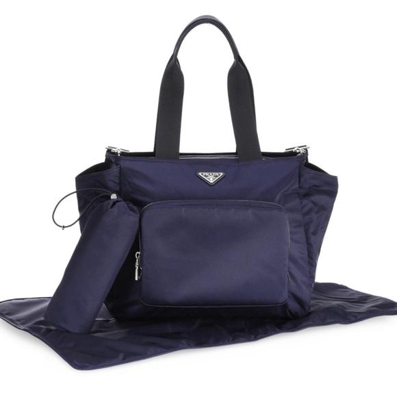 dab66b830f92 Authentic Prada diaper bag. M 5c25b8a0c9bf50d25f68c801
